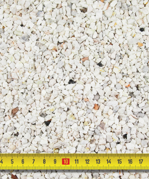 Daltex White Flint Dried Gravel – 2-5mm