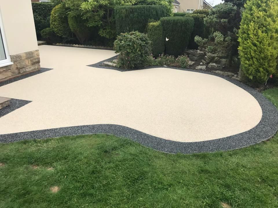 Completed Resin Bound Surface Area