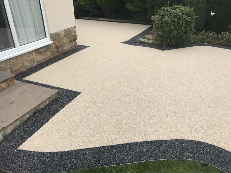 Merveilleux ... Resin Bound Patio